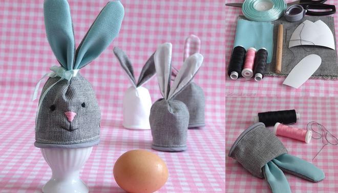 ocieplacz zajaczek na jajka wielkanocne krok po kroku 2810563