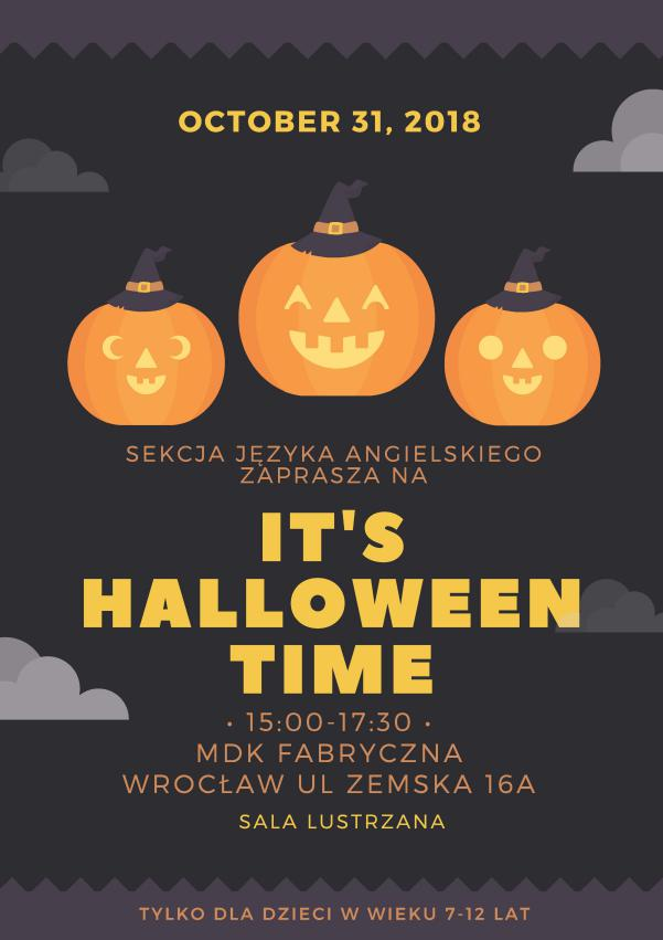 Zabawa Halloweenowa Z Sekcją Języka Angielskiego